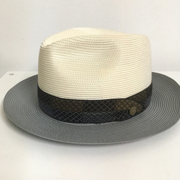 99626123b4f Stetson🌵Free Shipping Andover IvoryGray Straw Hat